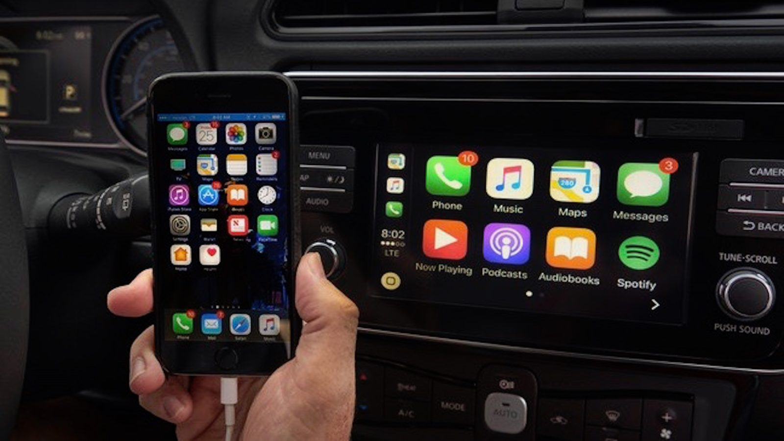 Nissan unveils all-new 2018 Leaf with support for Apple CarPlay ...