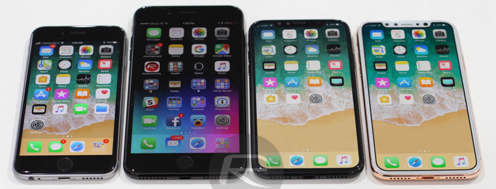 premium selection 0a53e 42ca5 See how the iPhone 8 screen size compares with the 7 Plus and all ...