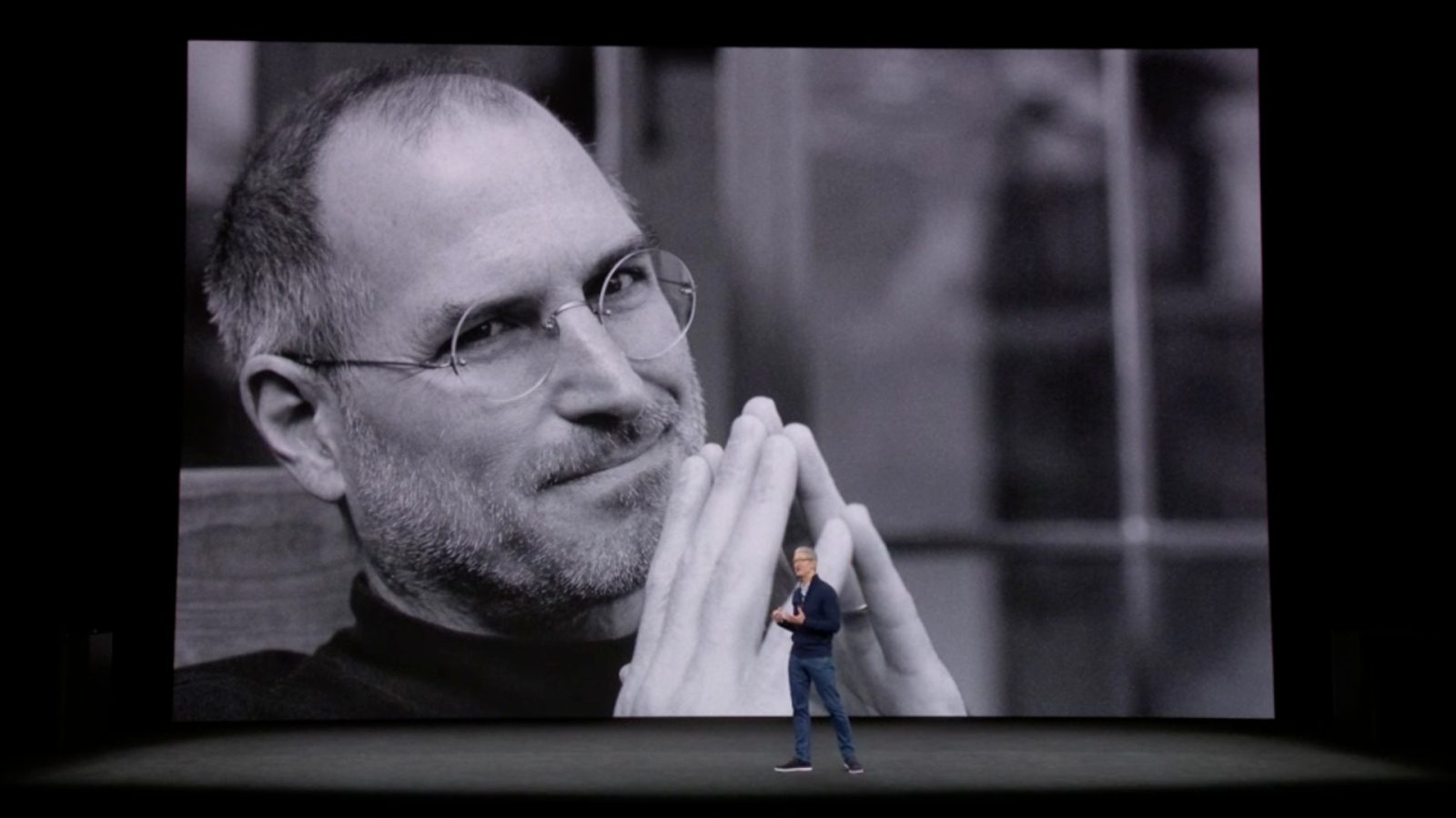 Dedication To Steve Jobs Opens Iphone X Event 9to5mac