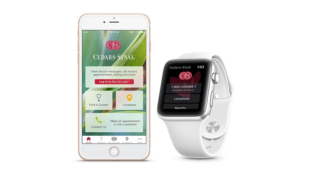 Cedars-Sinai Hospital unveils new Apple Watch app for quickly