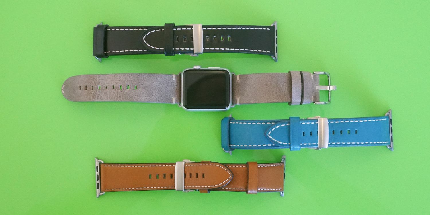 0e3829204 Review: BandWerk's Apple Watch bands offer premium leathers to suit all  tastes
