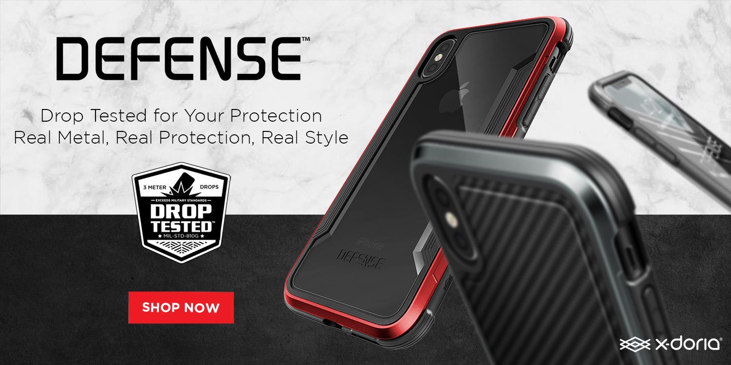 info for afbfd d117c X-Doria launches iPhone 8, 8 Plus and iPhone X Defense cases w ...