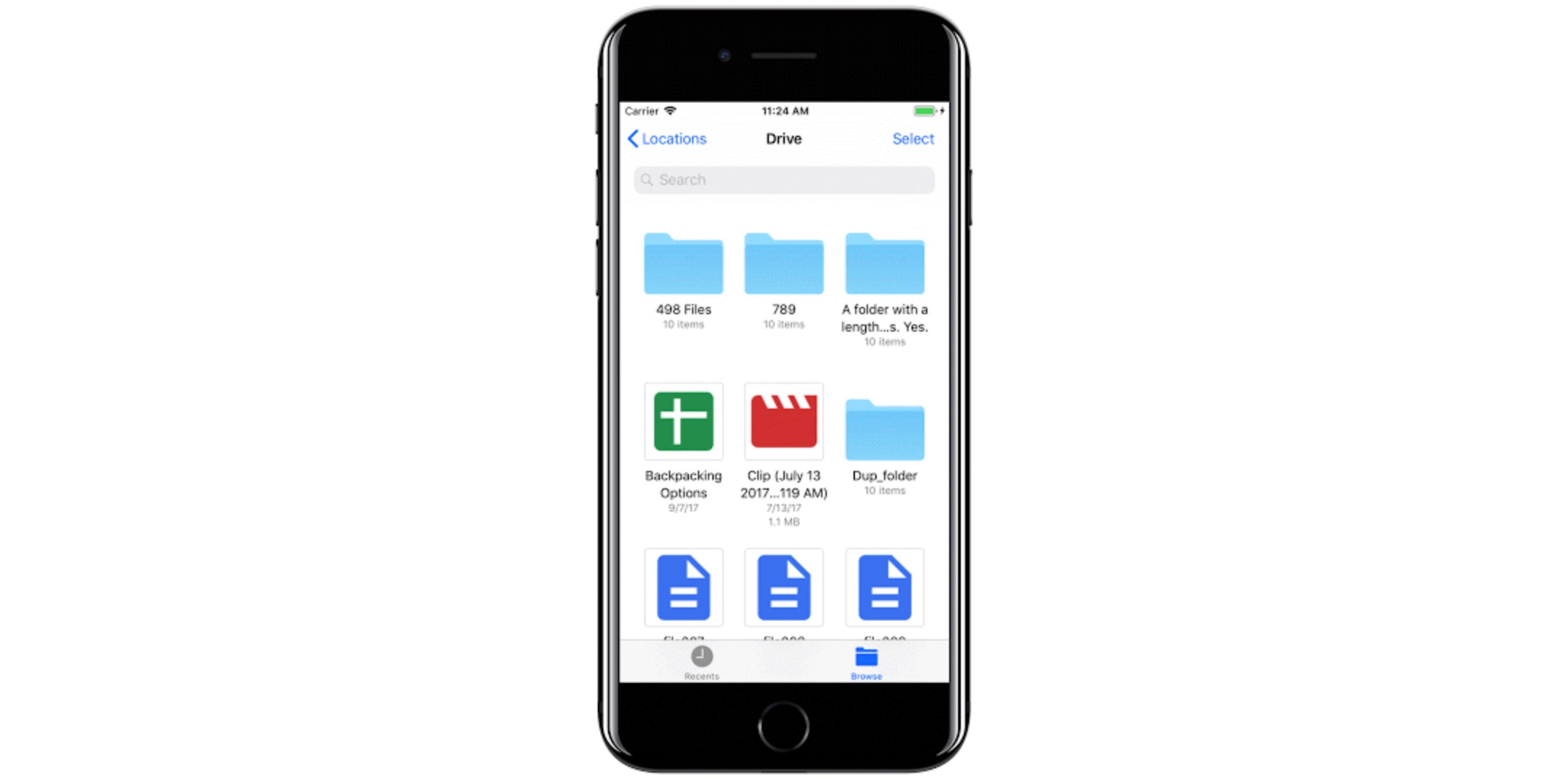 Google Drive Now Works With Ios 11 S New Files App 9to5mac