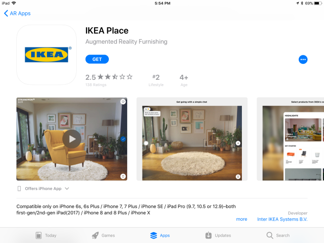 Roundup: Some of the best AR apps available now on iOS 11
