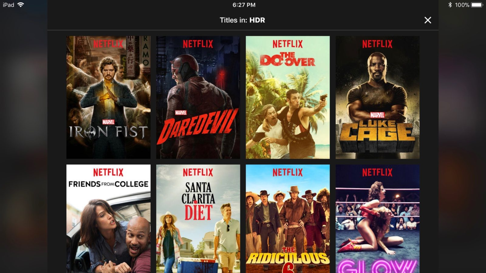 Netflix for iOS updated with support for HDR streaming on select devices