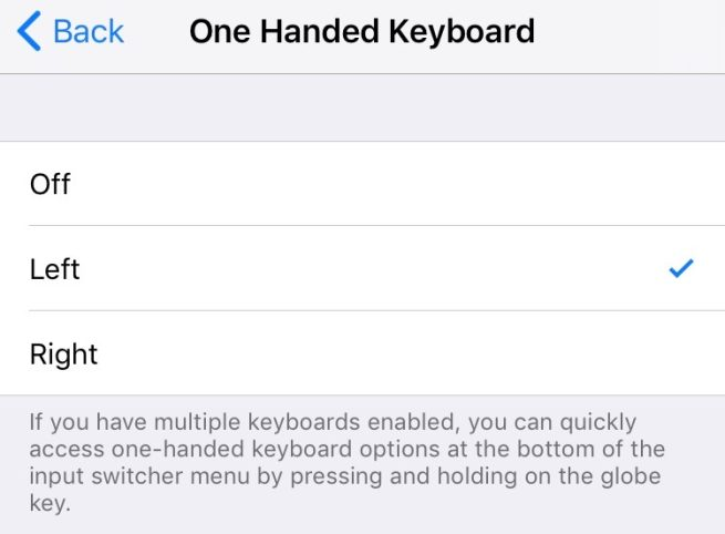 Ios 11 How To Use The One Handed Keyboard 9to5mac
