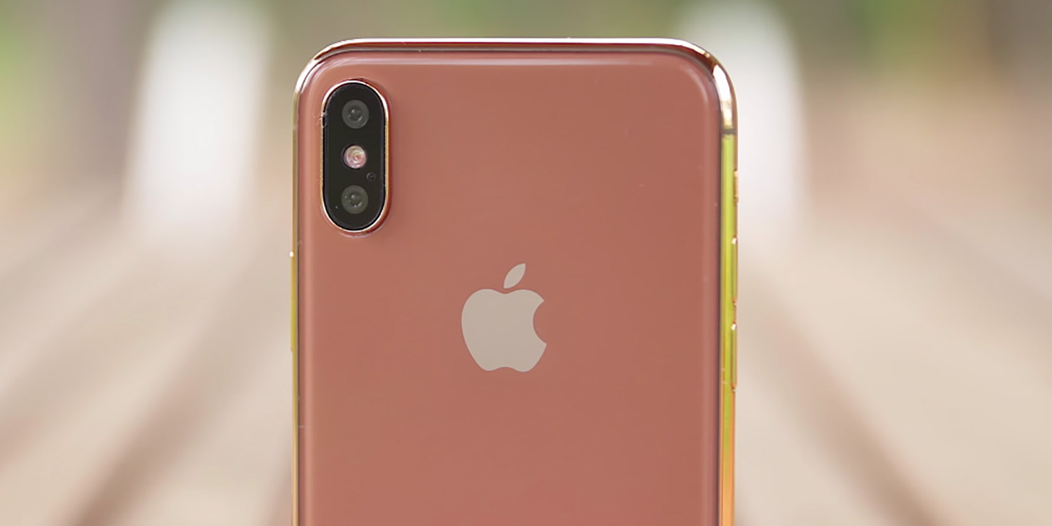 Gold color iPhone X rumored to have started production , 9to5Mac