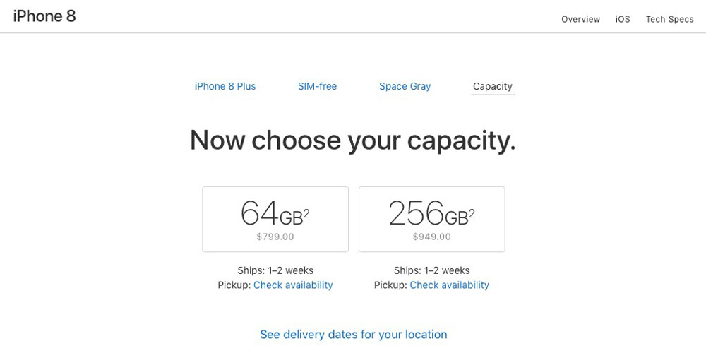 iphone 8 shipping slips to 1 2 weeks apple watch series 3 to 2 3 weeks u