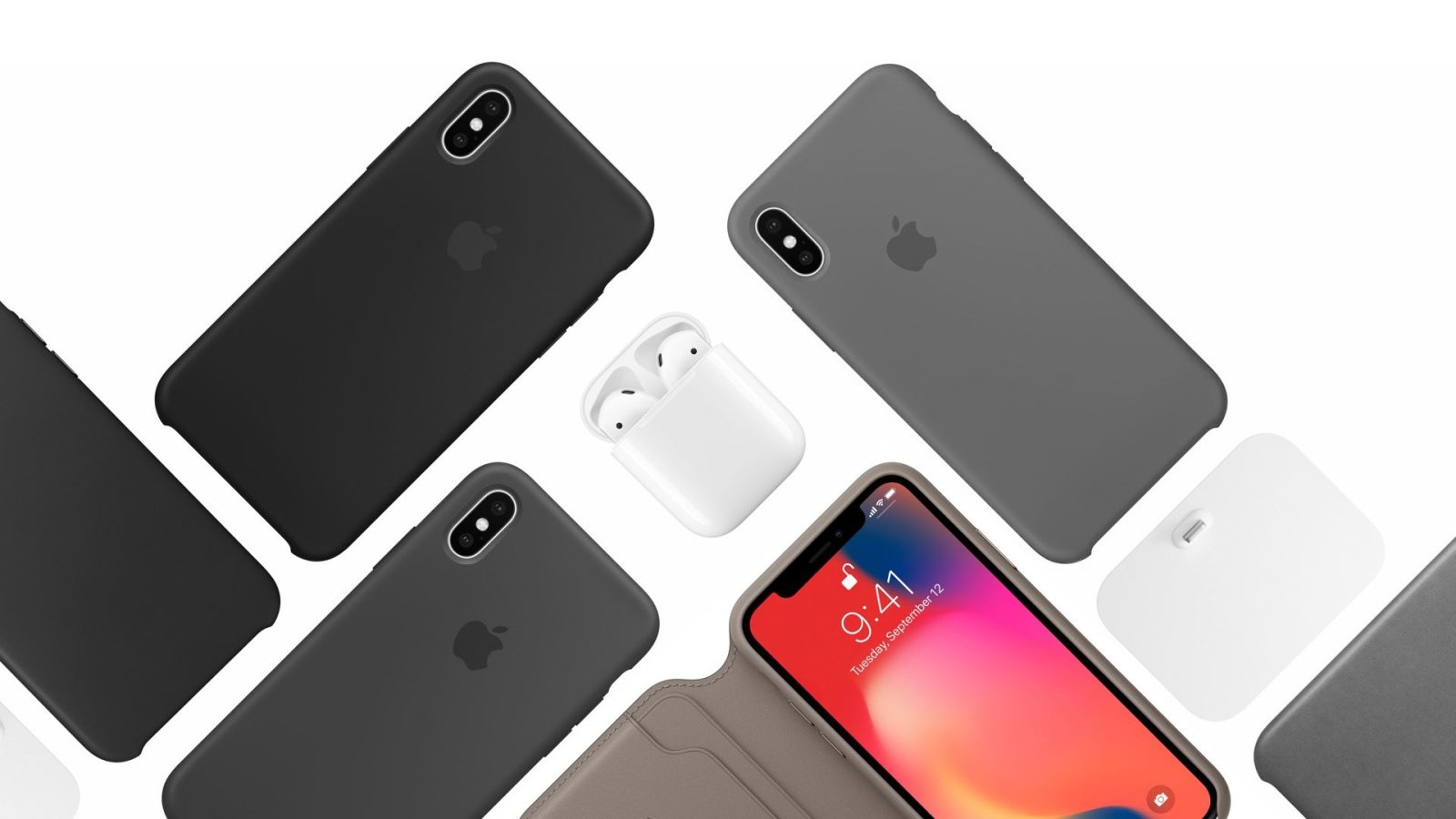 san francisco b7742 1c903 Apple's new Leather Folio is like a Smart Cover for your iPhone X ...