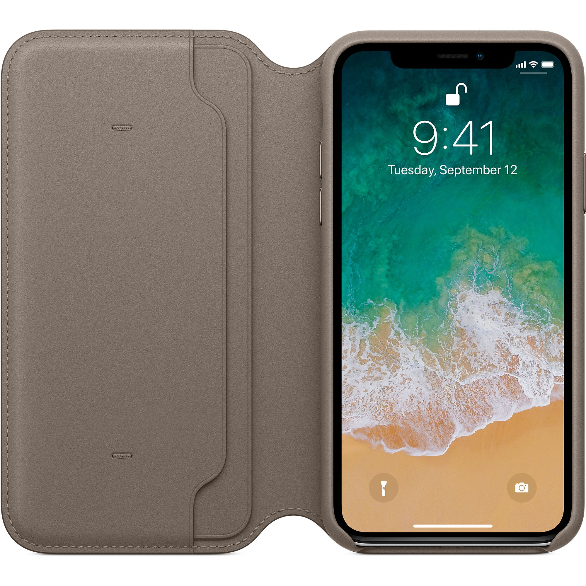 san francisco ea33b aff32 Apple's new Leather Folio is like a Smart Cover for your iPhone X ...