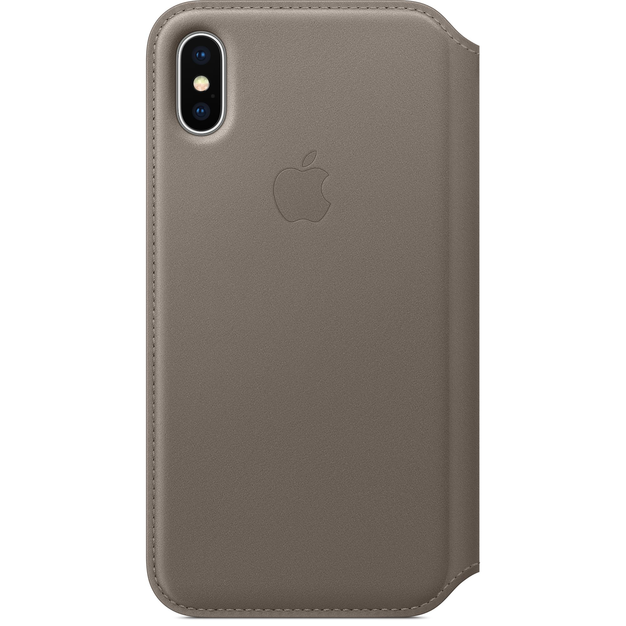 san francisco 037ce 260d5 Apple's new Leather Folio is like a Smart Cover for your iPhone X ...