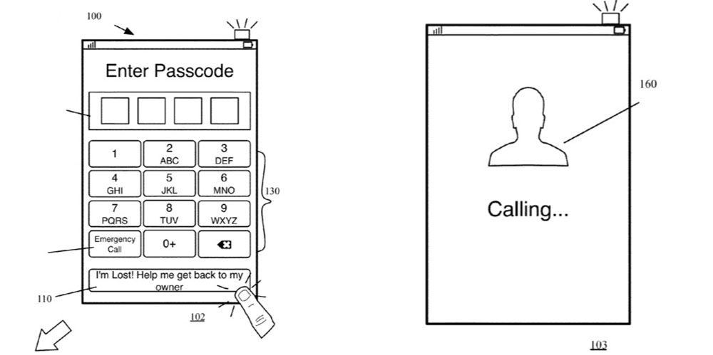 Apple patents easy way to get a lost iPhone back to its owner