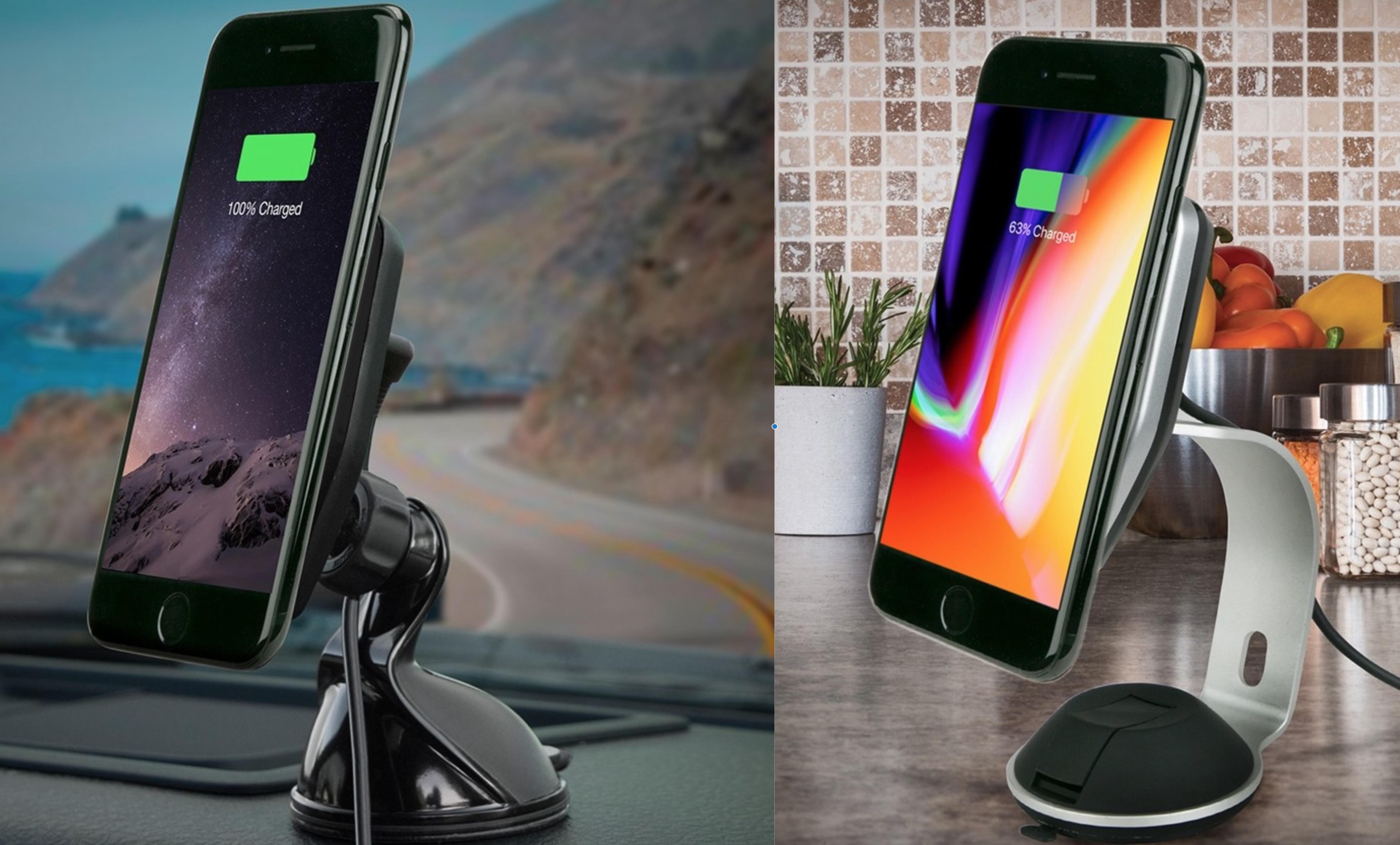 Iphone 8 windscreen mount
