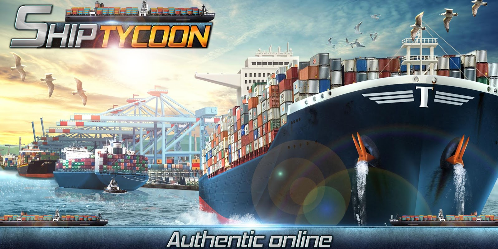 Ship Tycoon business management games for Android & iOS 2018
