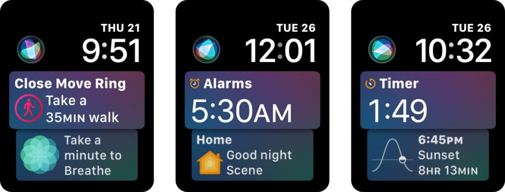 watchOS 4: How to customize and use the new Siri face on