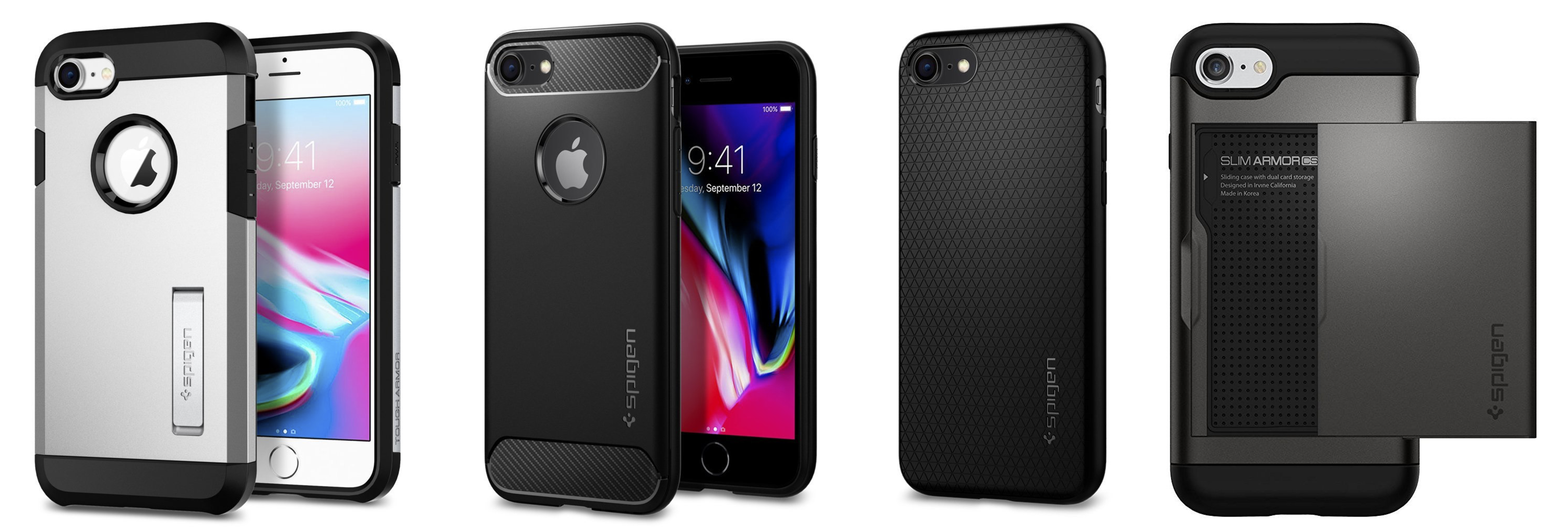 super popular 8f59a 8d84e Spigen's new iPhone 8 and iPhone 8 Plus cases shipping now for ...