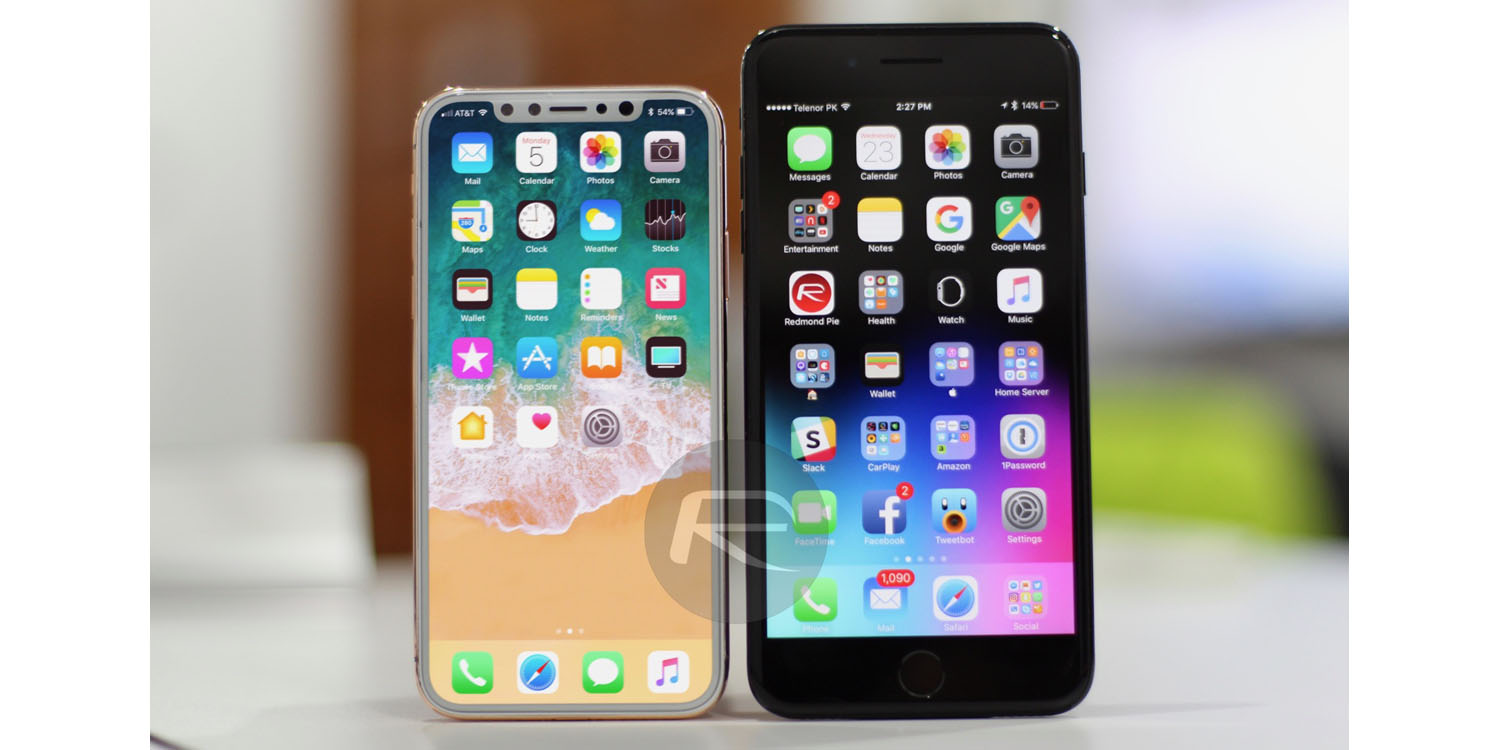 see how the iphone 8 screen size compares with the 7 plus and all