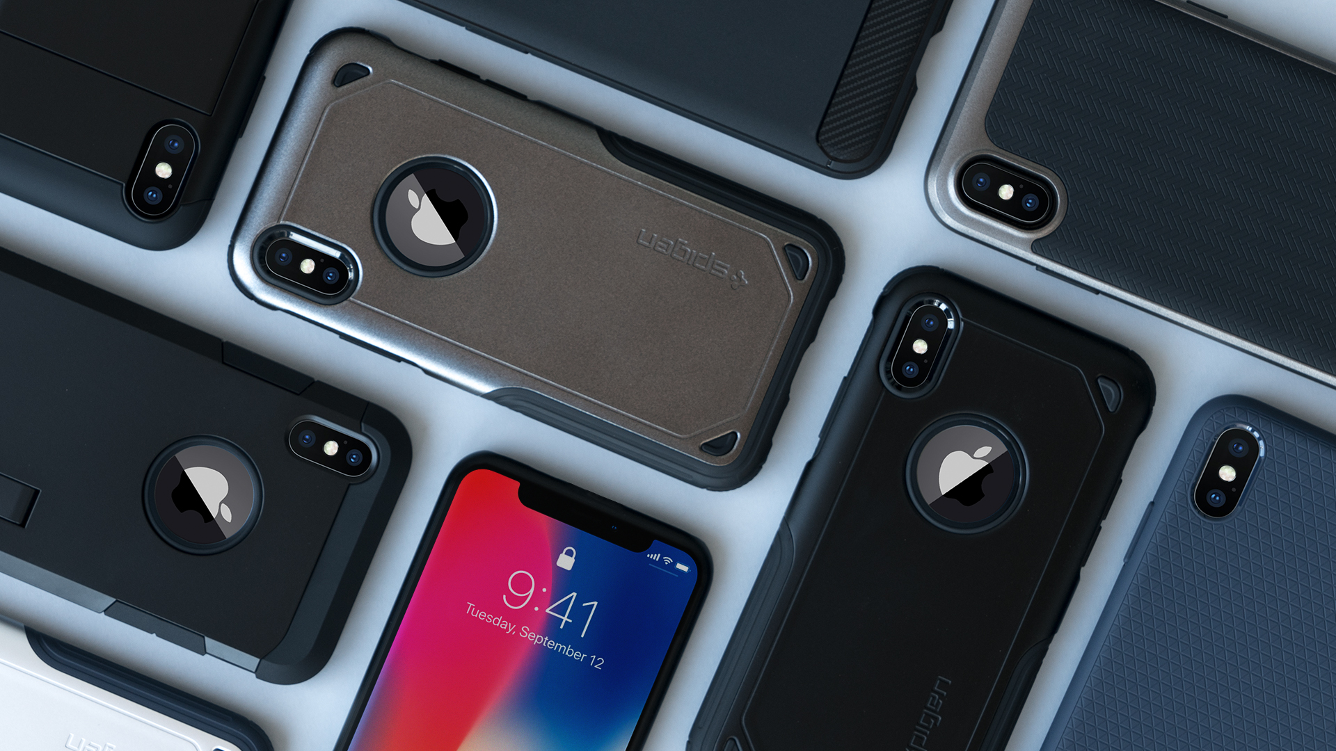 Spigen's iPhone X cases, screen protector & wireless charger available now