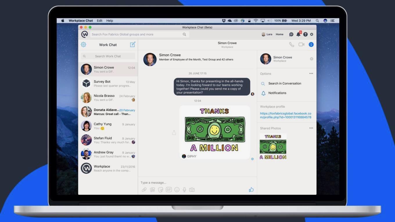 Facebook messenger on mac