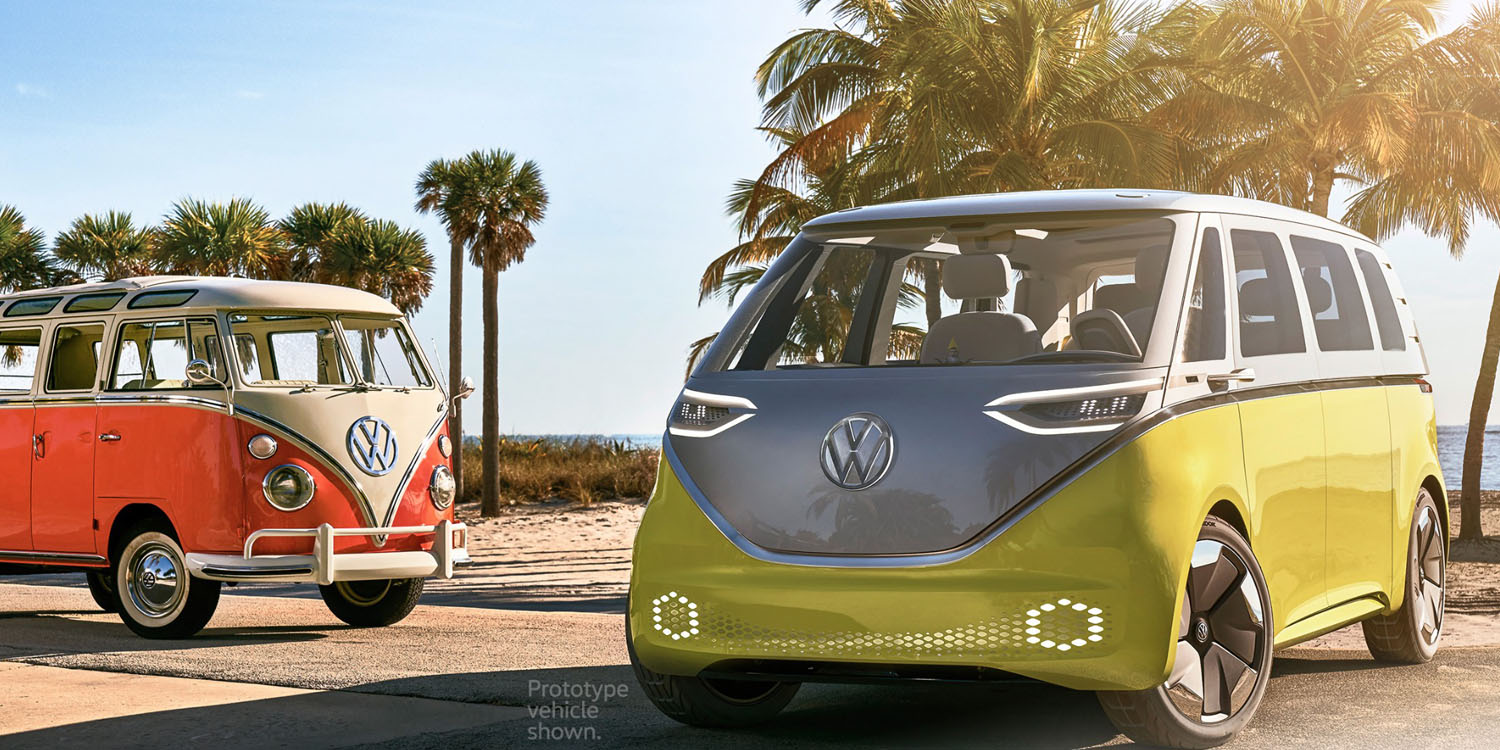Vw Claims It Will Really Make Its Electric Bus Concept Shows Ipad As Infotainment Center