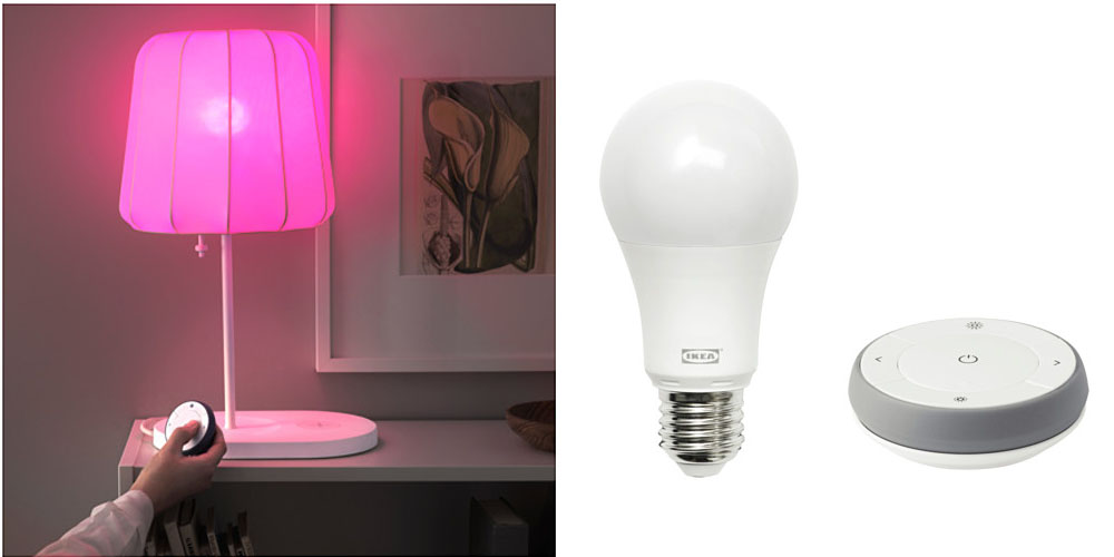 Ikea now offering HomeKit-compatible color smartbulbs as well as ...
