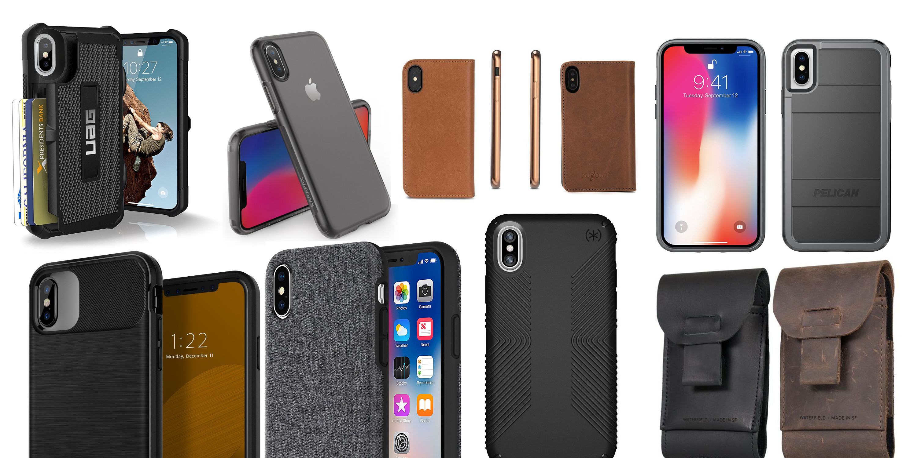 Best iPhone X cases, folios, covers and screen protectors