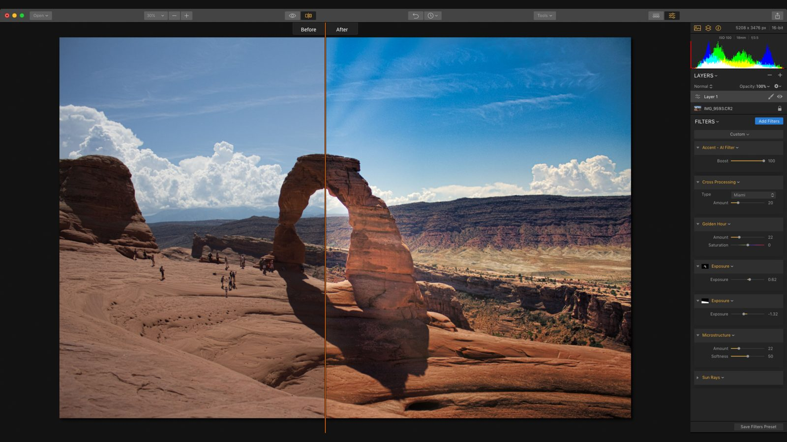 Macphun takes on Lightroom CC with improved Luminar 2018 photo