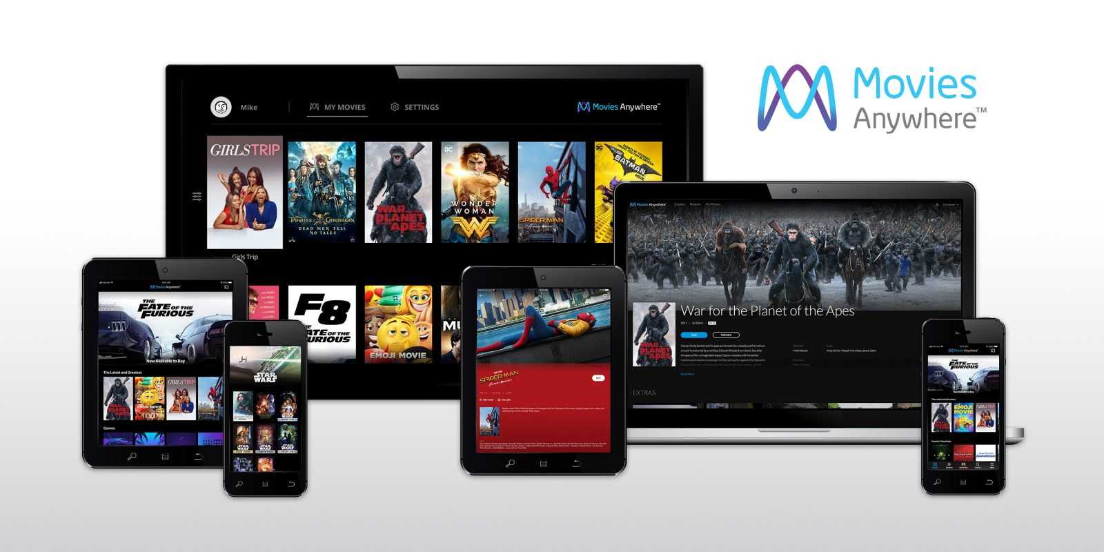 Movies Anywhere' will combine movie libraries across iTunes, Google