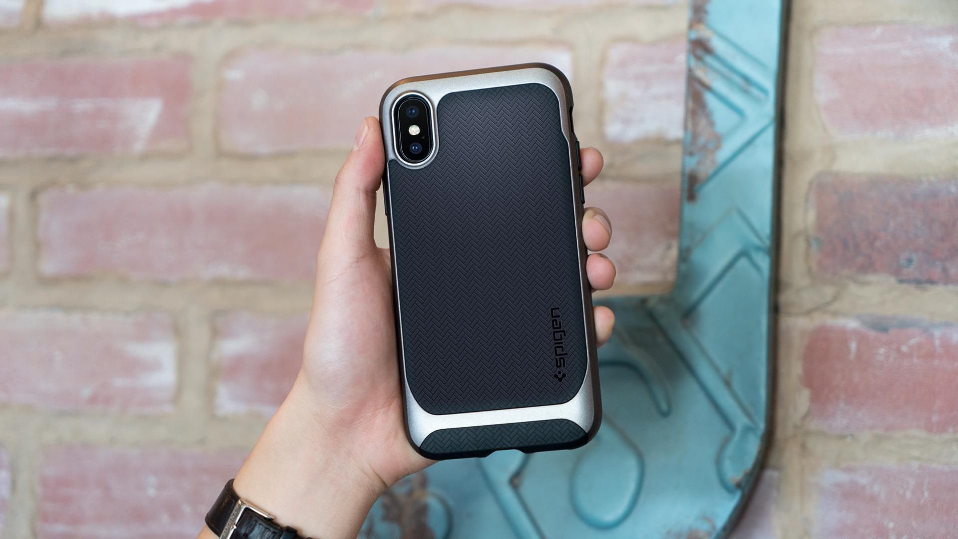 huge discount fd883 79b97 Spigen's iPhone X cases, screen protector & wireless charger ...