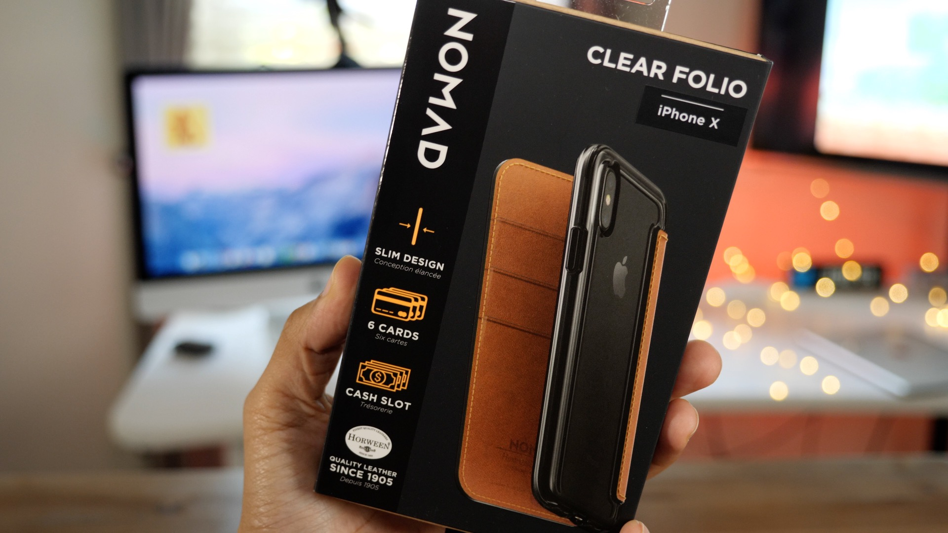 cheaper adb63 8d5ce Hands-on: Nomad case options for iPhone 8 Plus [Video] - 9to5Mac