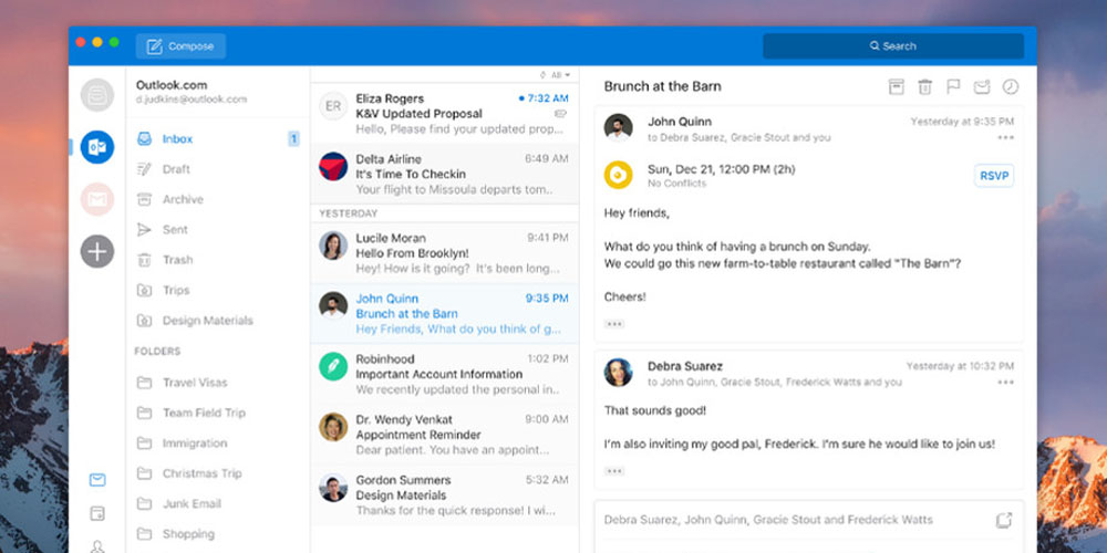 Microsoft revamping Outlook for Mac to look more like iOS version