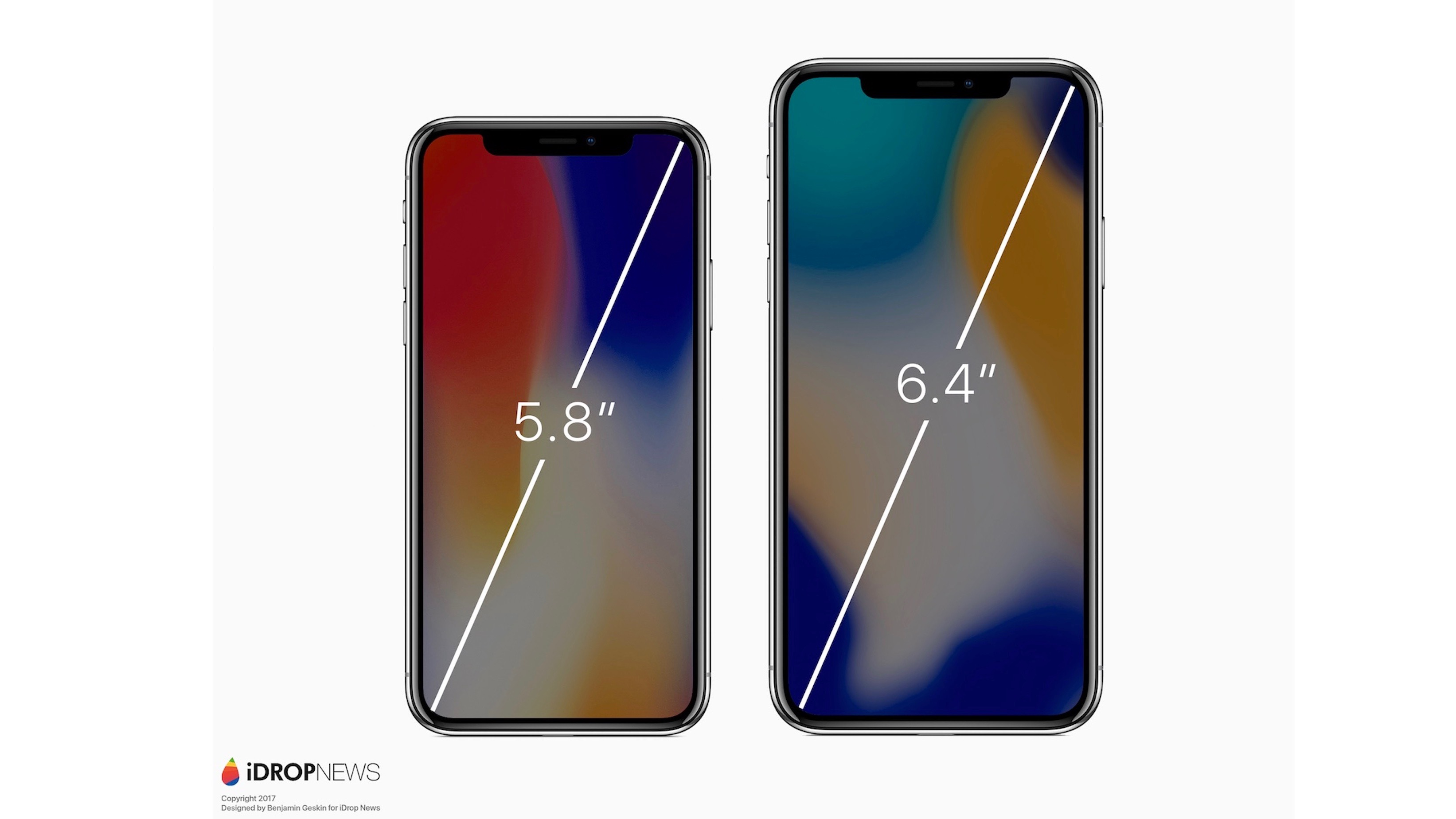 iphone 6 inches renders imagine rumored iphone x plus with 6 4 inch 11346