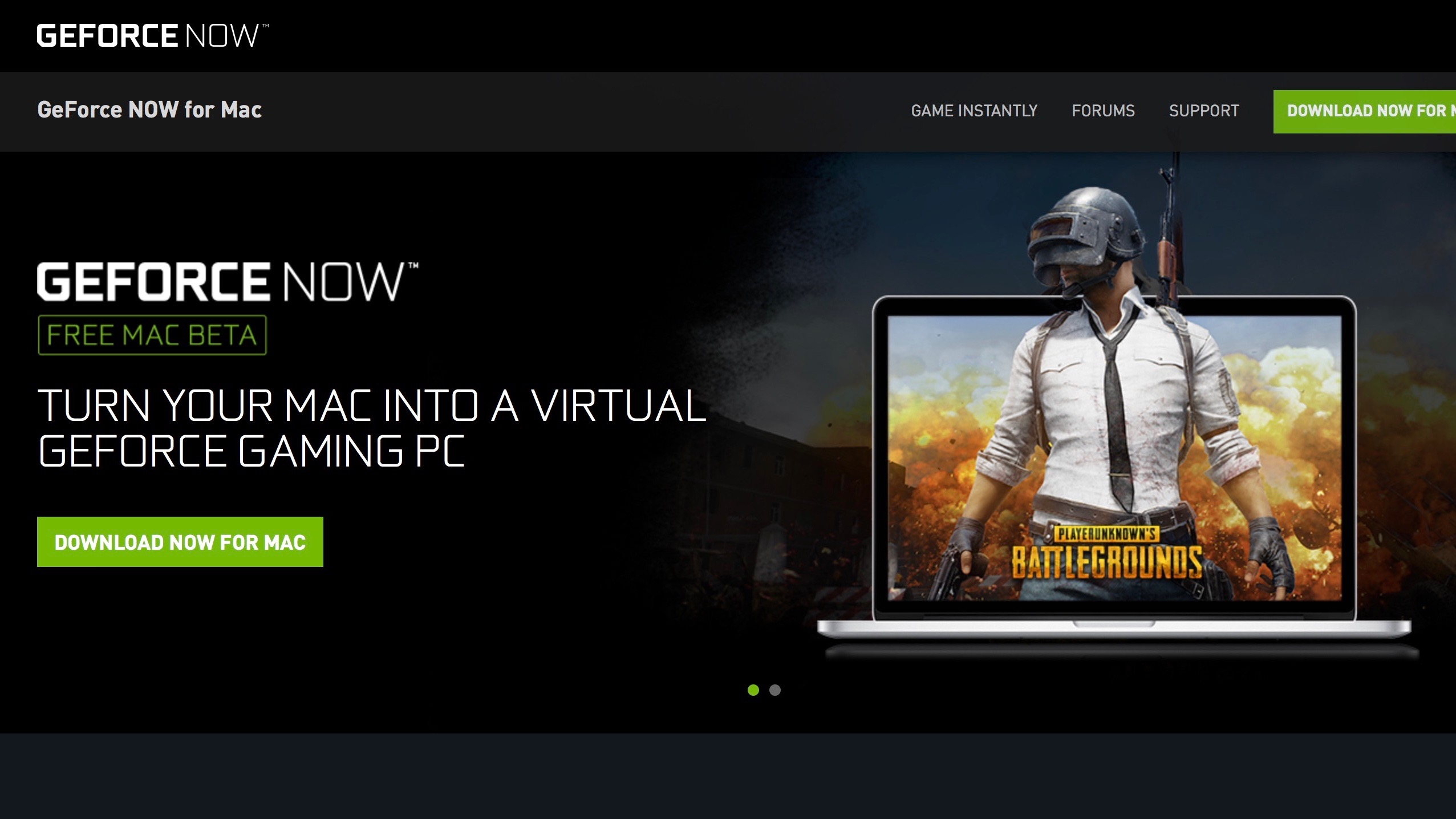 Nvidia launches GeForce Now beta, turns your Mac into a virtual gaming PC