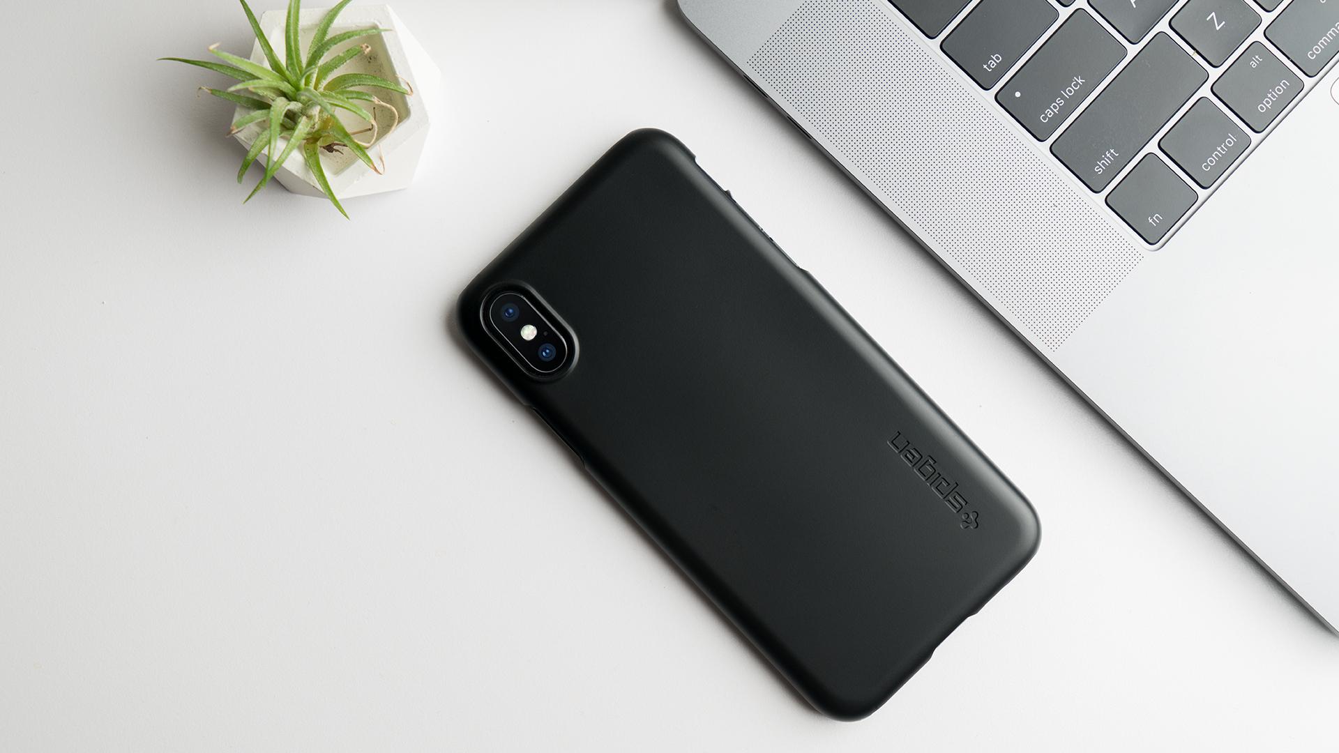 huge discount 01ff6 51694 Spigen's iPhone X cases, screen protector & wireless charger ...