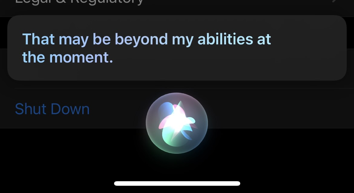 how to turn off iPhone without button Siri support