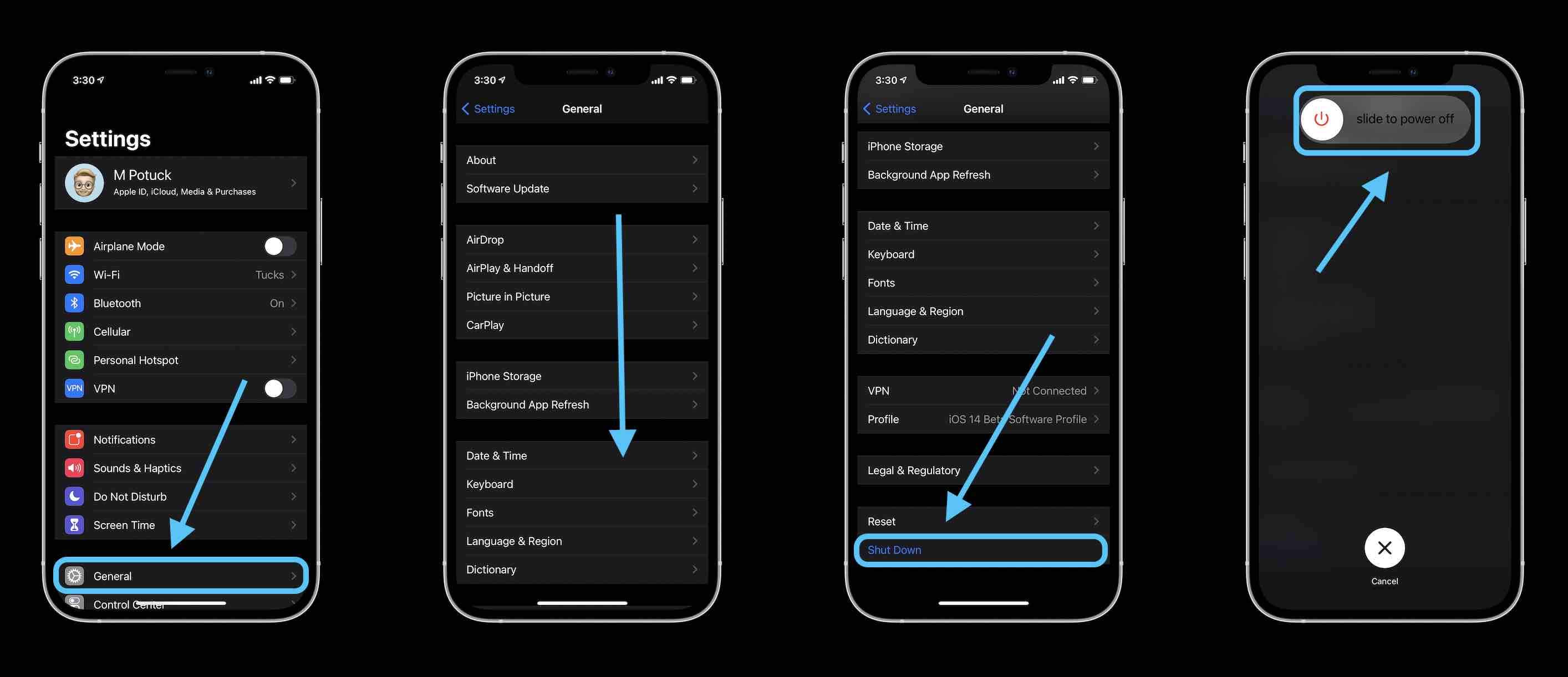how to turn off iPhone without button walkthrough 1