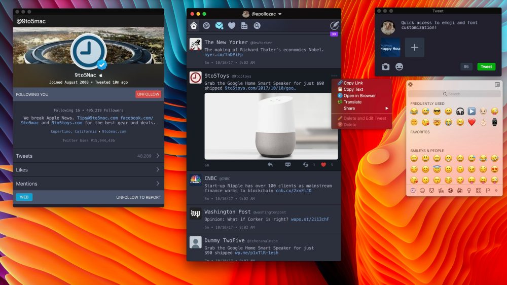 Twitterrific returns to the Mac as a modern Twitter client w