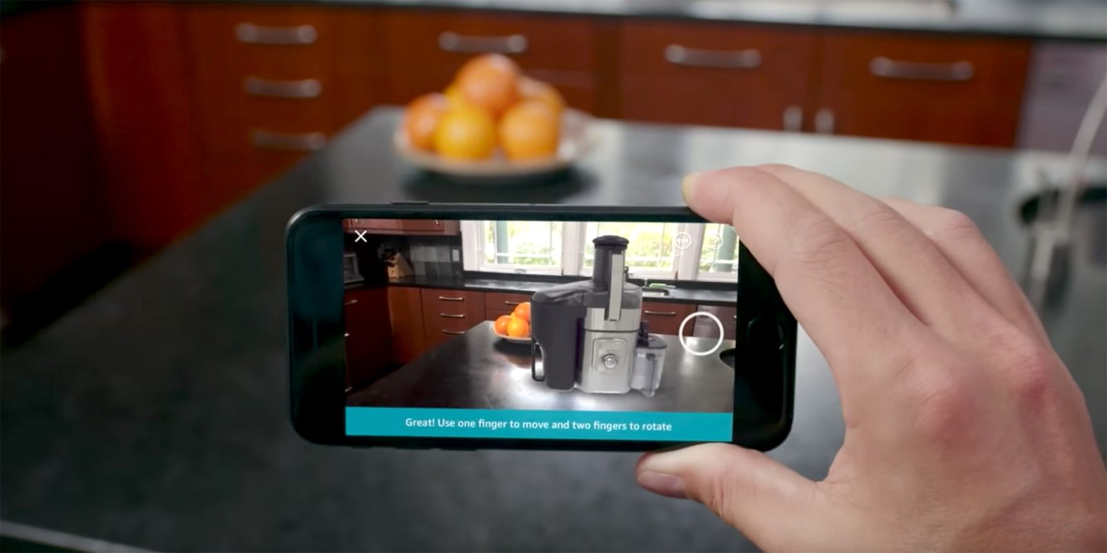 97deb3c6d261 Amazon s iOS app now uses ARKit for virtual shopping ahead of Black Friday