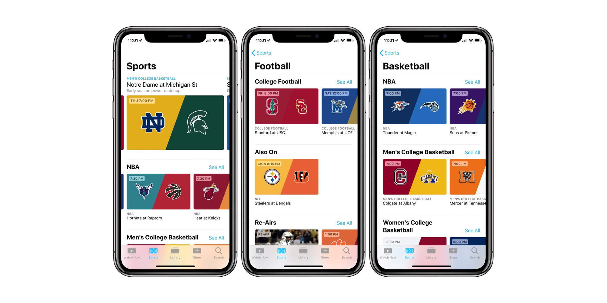 Eddy Cue says Apple unlikely to seek exclusive rights for sports as it focuses on a sports curation service