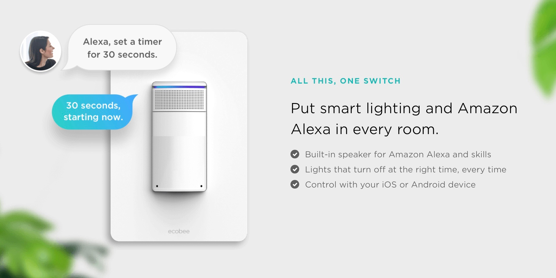 Ecobee Launches Pilot Program For Its Alexa Enabled Switch Light Ahead Of Release