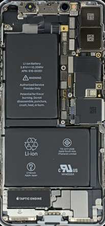 Ifixit S Internal Iphone X Wallpapers Are Made More Fun With Bezel