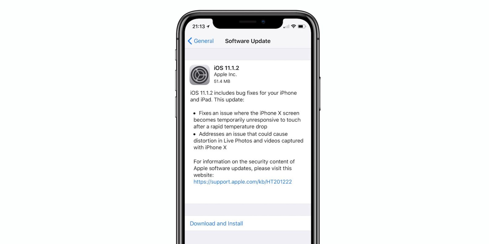 Apple releases iOS 11.1.2 with fix for unresponsive iPhone