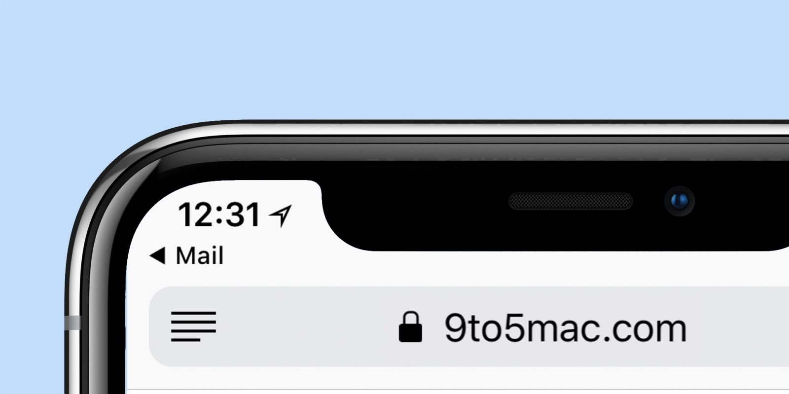 outlet store 108ba 2fd7a Opinion: Breadcrumb back button navigation on iPhone X is strangely ...