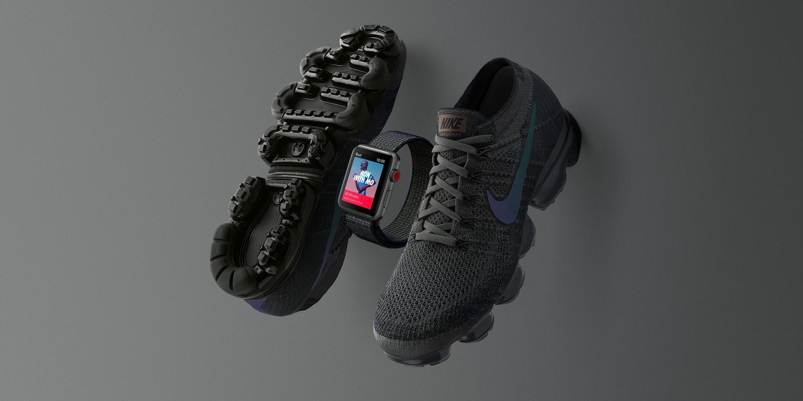 e46510b8110 Limited edition Midnight Fog Nike Apple Watch launching tomorrow ahead of  matching Air Vapormax shoes