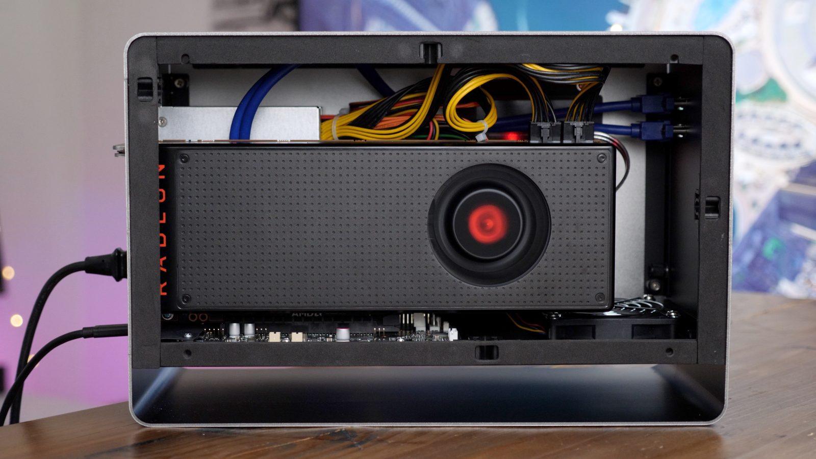 eGPU progress report: hands-on with the AMD RX Vega 64 +