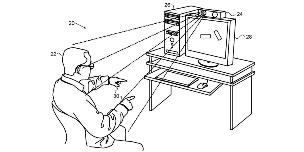 Apple/PrimeSense patent describes using hand gestures to control a Mac