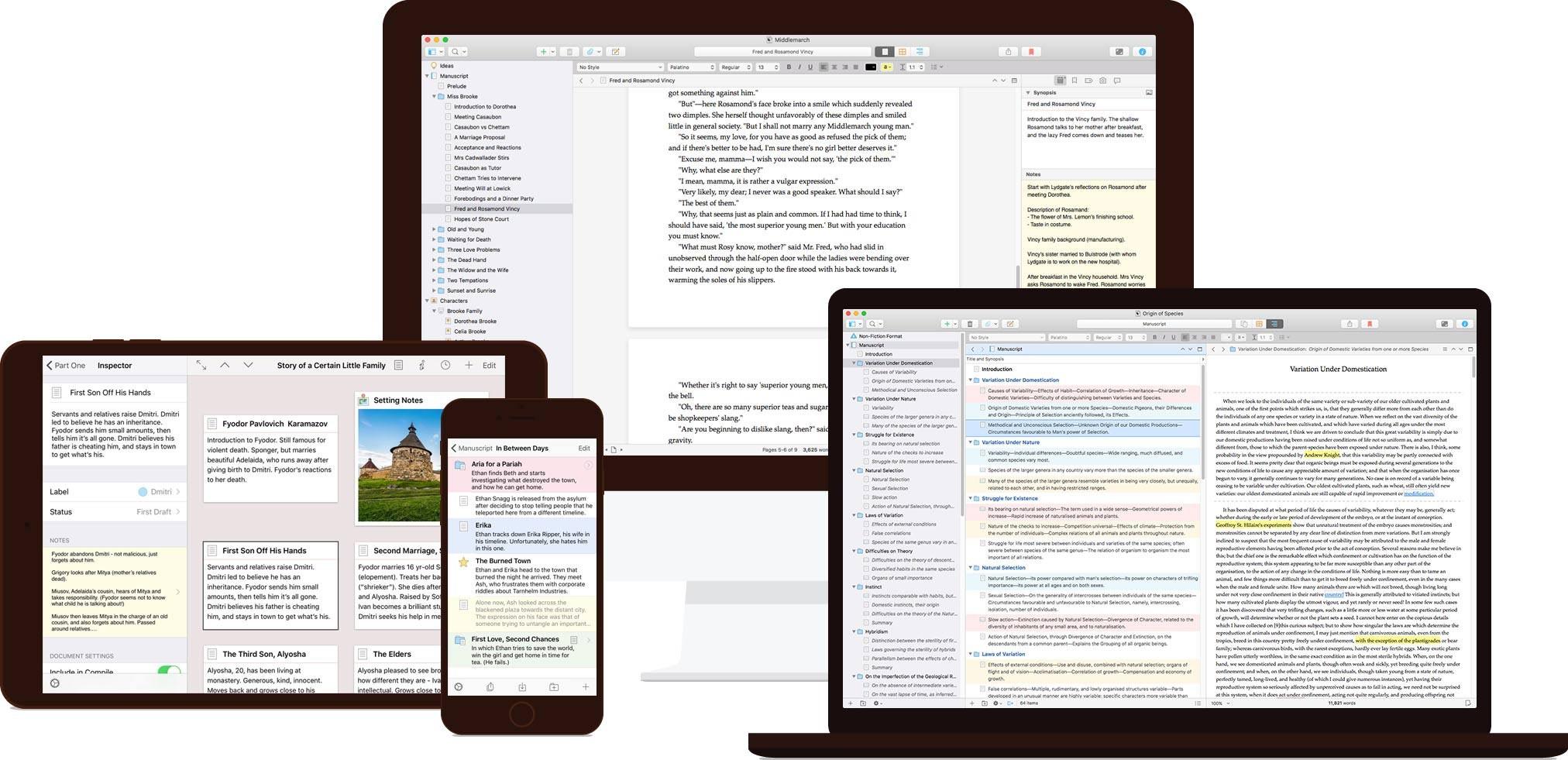 Popular writing app gets major update with Scrivener 3