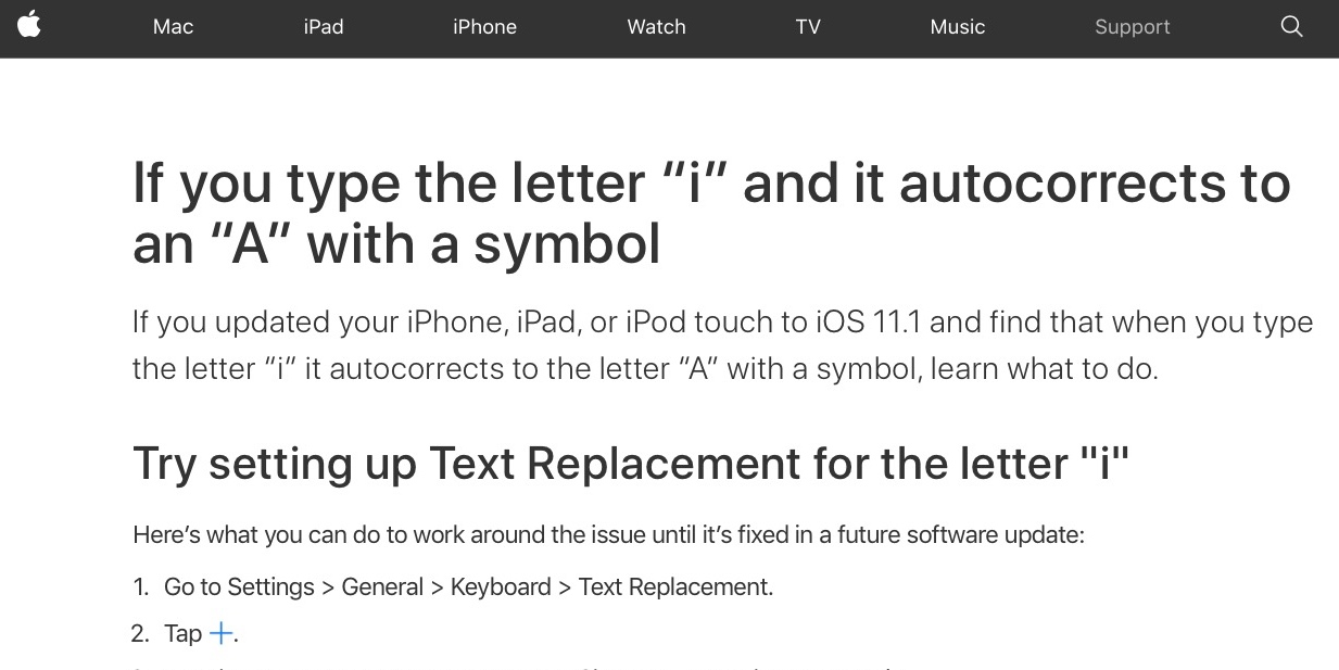 apple to release software update to solve iphone issue when typing