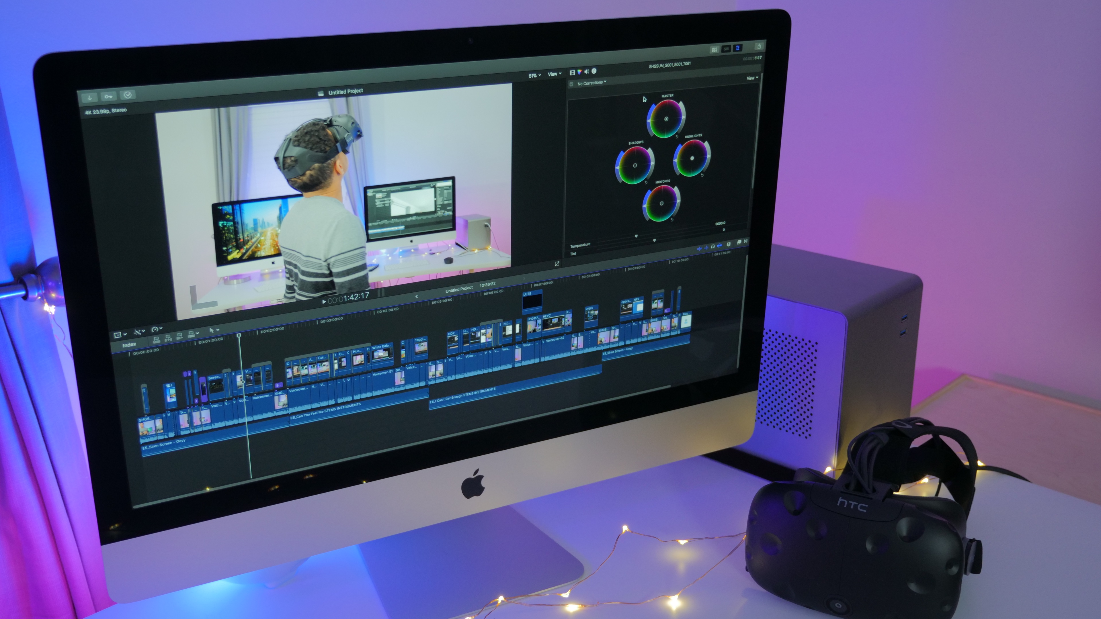 Hands-on: Final Cut Pro 10 4 adds 360 VR, advanced color