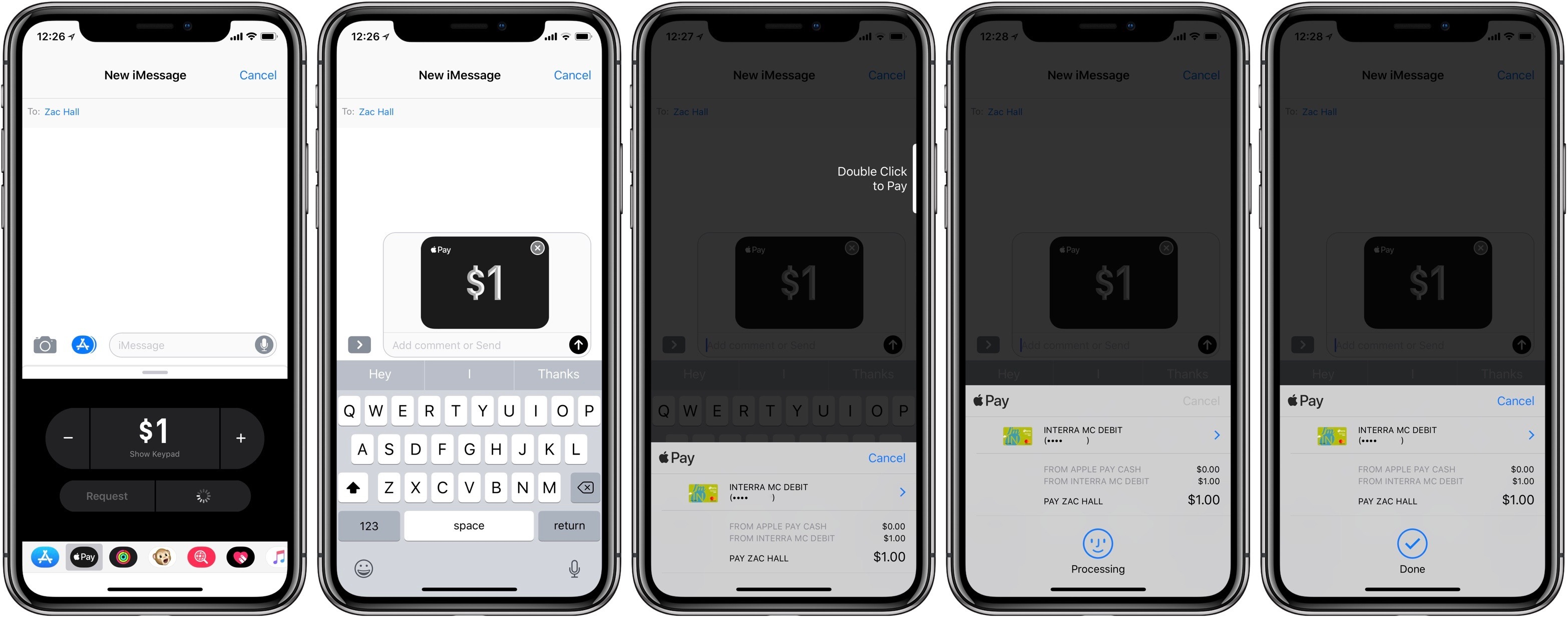 Apple Pay cash walkthrough 5